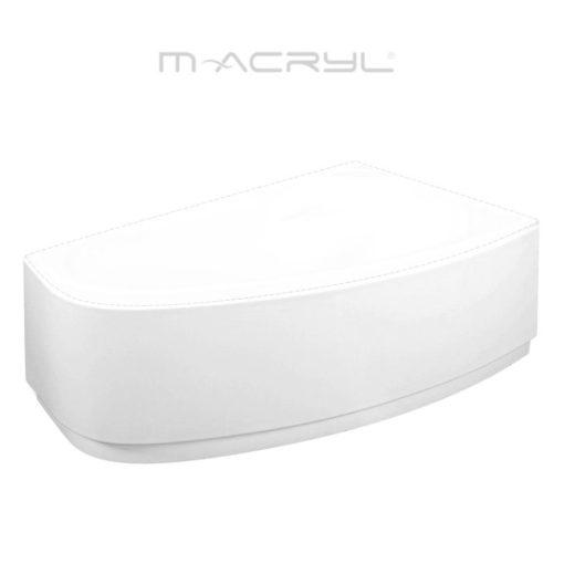 M-Acryl DARIA 140-es jobbos akril előlap sarokkádhoz