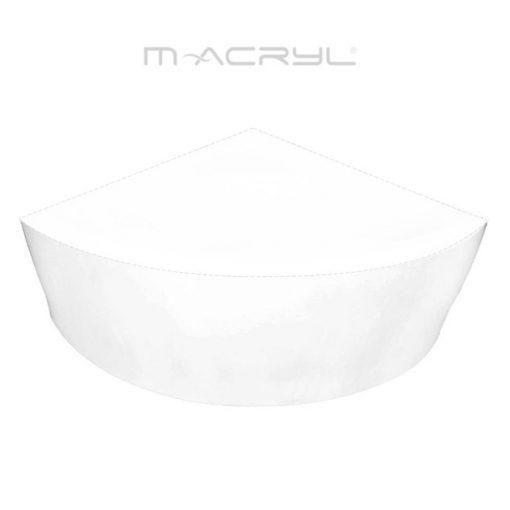 M-Acryl ANCONA 150-es akril előlap sarokkádhoz