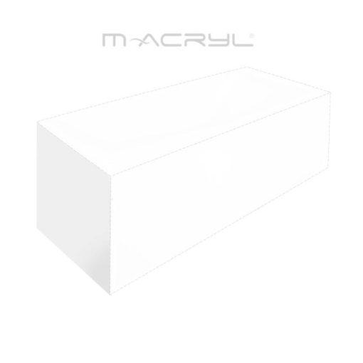 """M-Acryl """"D"""" típusú 90-es akril oldallap"""