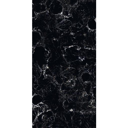 Porto Black 60x120 tükörfényes rektifikált gres-porcelán padlóburkolat