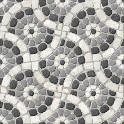Garden Black 50x50 matt kültéri gres-porcelán padlóburkolat