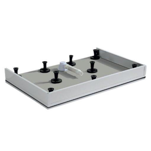 Zuhanytálca előlap AQUATREND MMX/MMA T02-99-es zuhanytálcákhoz, 10 cm magas