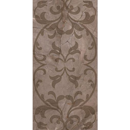 Pulpis Perla Brown Motif Dekor 30x60 fényes porcelán falburkolat