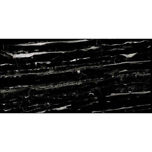 Regal Jelisca Black 60x120 tükörfényes rektifikált gres-porcelán padlóburkolat
