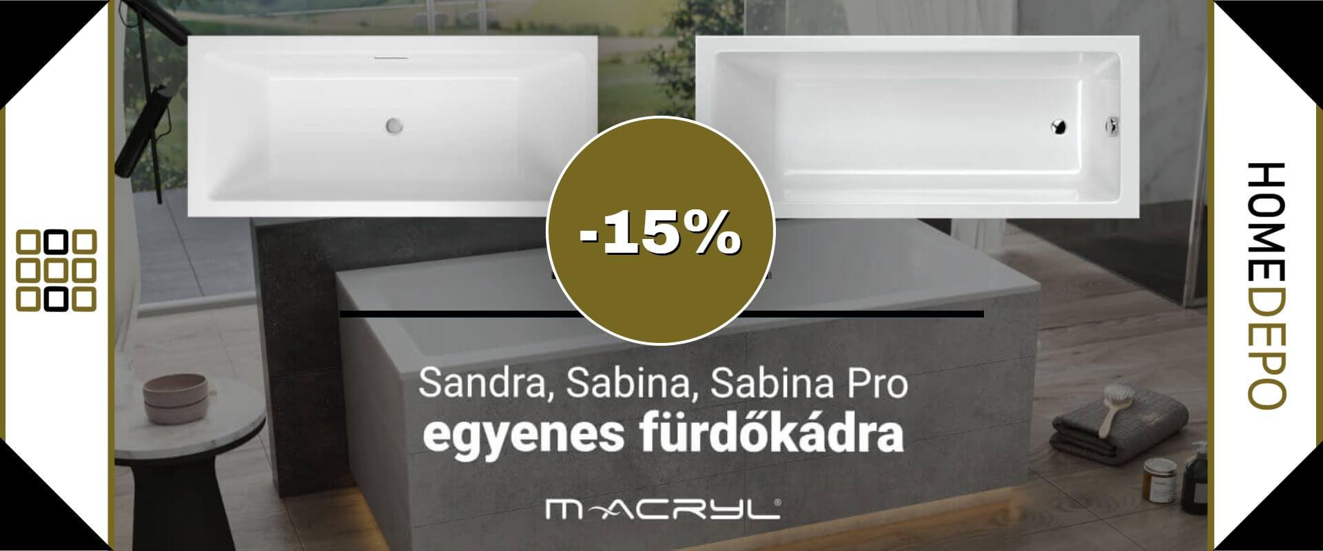 M-acryl -15% kedvezmény